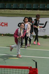 Tenis Öğrenen Çocuklar